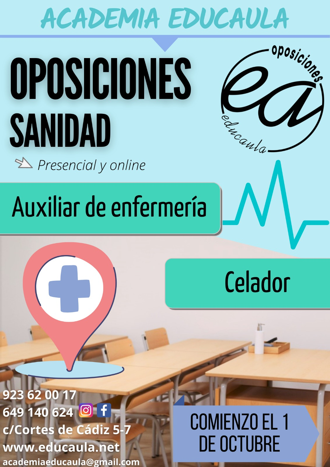 Educaula centro de preparación de oposiciones